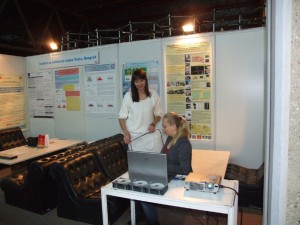 CD's distributed at the HVAC&R and Exhibition of Software, IT and Green Programs at the IBPSA-Danube desk 2011